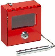 Basi Notschlüsselkasten mit Hammer, NK 215H