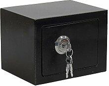 Basic Safe Tresor, Schwarz, Inside Size 160 * 220