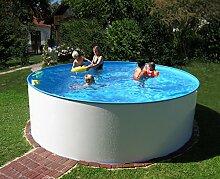 Basic Schwimmbecken-Set rund von Summer Fun, inkl. Sandfilteranlage, Malibu. Ø ca. 350 cm. H ca. 120 cm