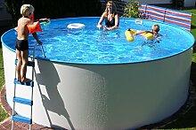 Basic Schwimmbecken-Set rund von Summer Fun, inkl.