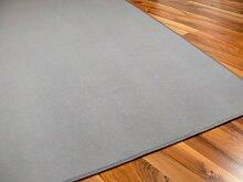 Basic Velours Teppich Carla Grau in 17 Größen
