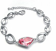 Basic Weiblich Armband Intarsienkristall Lingbi