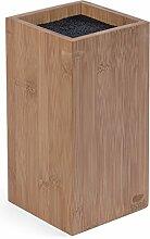 basil | Bambus Messerblock mit schonendem