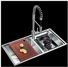 BASIN Baumarkt Schritt Küchenspüle Waschbecken