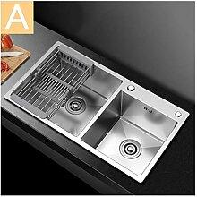 BASIN Baumarkt Silber Waschbecken For Die Küche