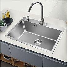 BASIN Gewerbe Waschbecken Mit Wasserhahn,
