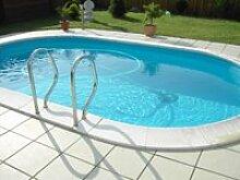 Basis Set Pool Schwimmbecken Ovalpool 8,00 x 4,00 x 1,50m IH 0,8mm