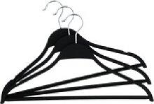 Basispreis* KHG Kleiderbügel, 3er-Set ¦ schwarz