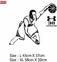 Basketball Wandaufkleber Wandtattoos Vinyl
