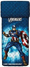 Bassetti 9286355 Captain America Tagesdecke