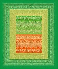 Bassetti Brunelleschi Tischdecke 140x170 V3 - grün