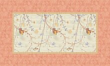 Bassetti Fong Tischdecke, Baumwolle, Beige, 150 x