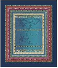 Bassetti Tischdecke Malve B1 blau 140x170 cm