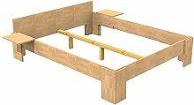 Baßner Holzbau 18mm Echtholzbett Massivholzbett