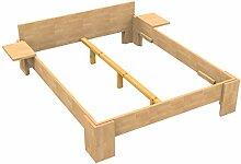 Baßner Holzbau 27mm Echtholzbett Massivholzbett