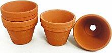Bastel Terracotta Blumentopf klein 100 Stück