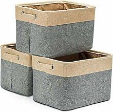 Basuwell Faltbare Aufbewahrungsbox Faltbox mit
