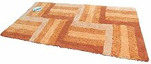 Batex Badteppich Duo Multicolor Zimt/Terra 60x110cm