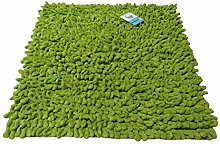 Batex Badteppich Loop grün 60x60cm Badematte