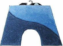 Batex WC-Vorleger Melodie hellblau/blau 60x55cm