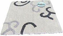 Batex WC-Vorleger Venezia Silber/grau 50x50 cm