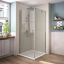 Bath-mann Eckeinstieg Duschkabine Duschabtrennung