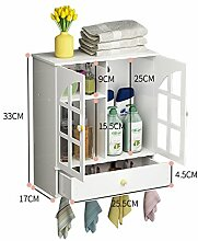 BATHAE Badezimmer Schränke Regal Wand-