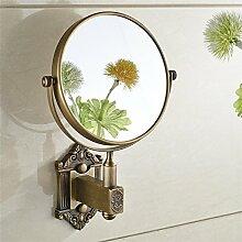 BATHAE Badspiegel Antique Brass 3 X