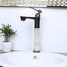 Bathaeo 2017 Neue Europäische Stil Waschbecken Bad Armatur, Alle Kupfer Heißen Und Kalten Wasserhahn, B