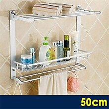Bathroom Badezimmer Sanitär Regal Hängen Toilette Handtuchhalter Bad Handtuchwärmer Pylon Drei Regale ( farbe : 2# )