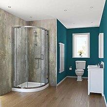 Bathroom-Decor Wandverkleidung, aus PVC, 10 mm