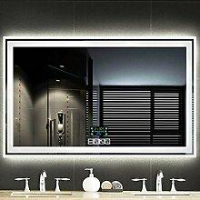 Bathroom Mirror 35 X 28 In Horizontaler Uhr LED