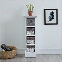 Bathroom Shelf Flower Drawer Shelf Stand Shelf In