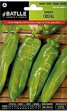 Batlle Gemüsesamen - Paprika Kristall (300 Samen)