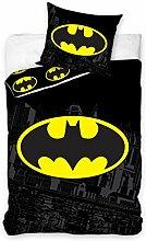 Batman Bettwäsche Set 135x200cm + 80x80cm,