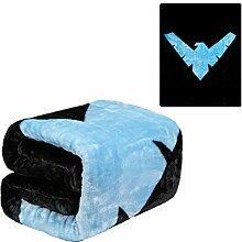 Batman Emblem wendbar Super Soft Luxus