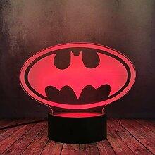 Batman Nachtlicht für Jungenzimmer DC-Serie