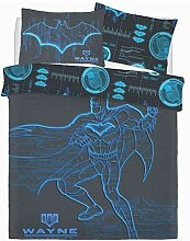Batman Wayne Branchen Dc Comics Blau Panel