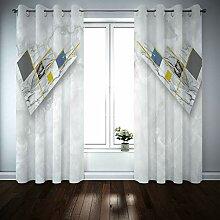 BATOHOME Gardinen Vintage, Vorhang Für
