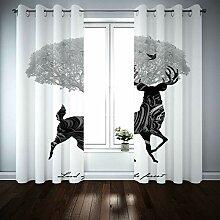 BATOHOME Raumteiler Vorhang, Küchengardinen