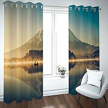 BATOHOME Vorhang Umkleide, Gardinen Wohnzimmer
