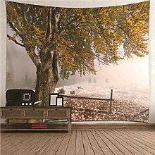 BATOHOME Wandbehang Tapisserie,Wandtuch Romantisch