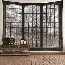 BATOHOME Wandteppiche Modern,Wandbehang Landschaft