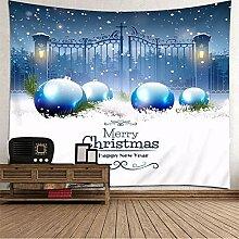 BATOHOME Weihnachtsteppich Küche, Wanddekoration