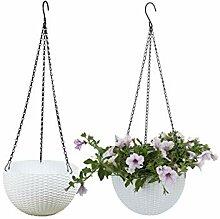 Batop 2 Stück Blumenampel Hängen Balkon