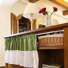 BATSDCB Halber Vorhang, Baumwolle und leinen kurz