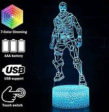 Battle Bus Spiel 3D-Lampe Stimmungslampe RGB 7