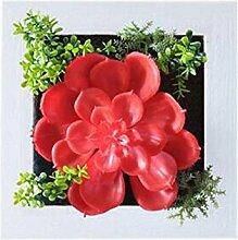 Bauernhaus Art Künstliche Pflanze Ornamente Räume Wanddekoration, Ro