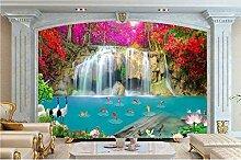 Bauernhaus Stil Fototapete Wasserfall Tapeten Für