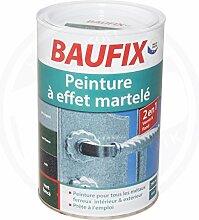 Baufix Hammerschlaglack 2in1 Lack und Grundierung 750 ml dunkelgrün